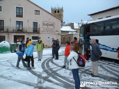 Riaza; hacer senderismo en madrid; Atención exclusiva al senderista